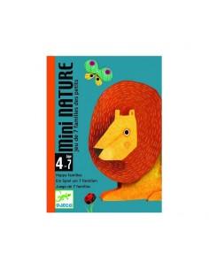 Juego de cartas Mini nature
