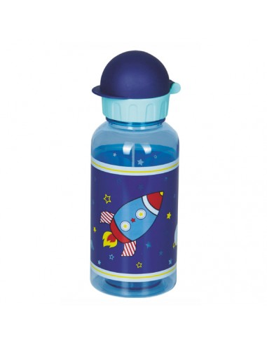 Botella Tritan Cohete Espacial 400 ml