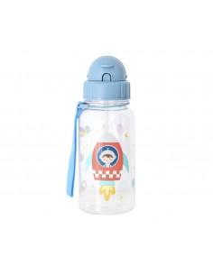Botella Plastico Pajita 500...