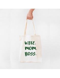 Bolsa Wife Mom Boss