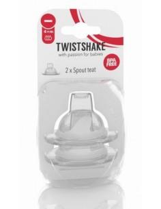 Pack 2 Tetinas Twistshake...