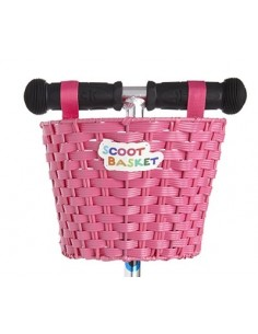 Scoot Cesta Rosa
