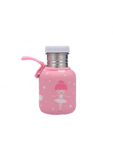 Botella Acero Funda Bailarina 350ml