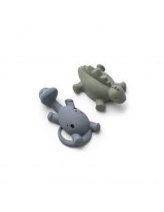 Algi juguetes de baño Azul