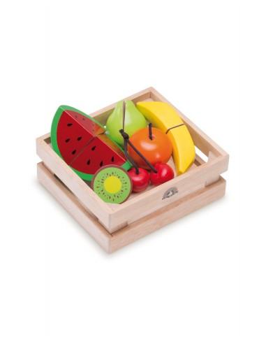 Caja Madera cortar fruta
