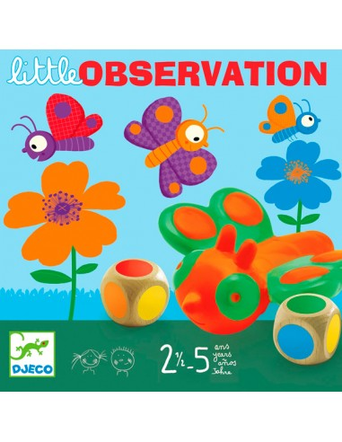 Juego Little Observation