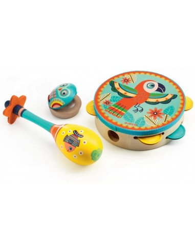 Conjunto 3 Instrumentos Animambo