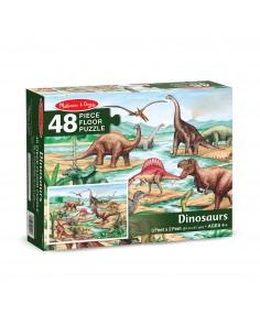 Puzle Suelo Dinosaurios -...