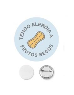 Chapa Alergia Frutos Secos