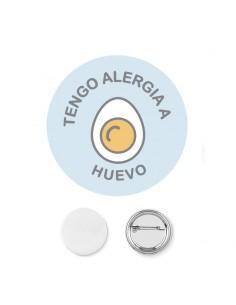 Chapa Alergia Huevo