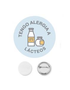 Chapa Alergia Lacteos