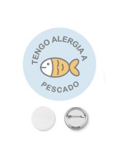Chapa Alergia Pescado