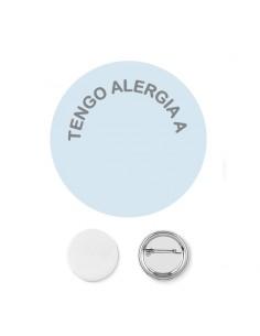 Chapa Alergia PERSONALIZABLE