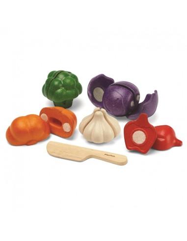 5 Vegetales para cortar