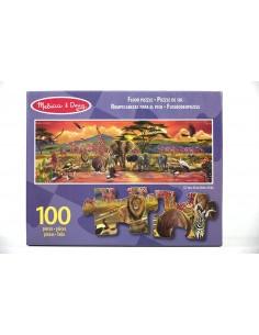 Puzle Suelo Safari - 100...