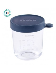 Tupper Cristal 250ml Azul...
