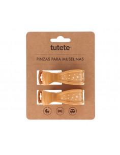 Pinza Muselina Tutete Mostaza