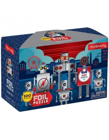 Puzle Platina Robotics 100p
