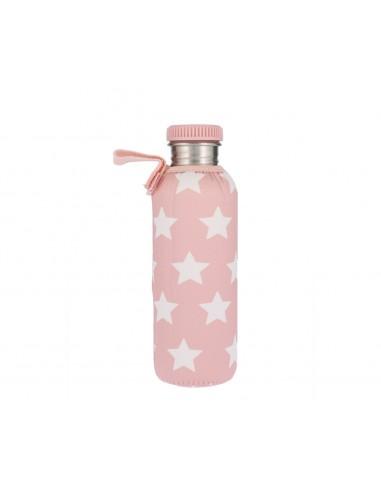 Botella Acero con Funda Estrellas...