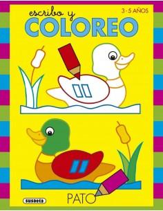 Escribo y Coloreo - Pato
