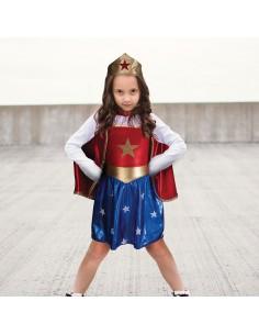 Conjunto Superheroina 5-6 Años
