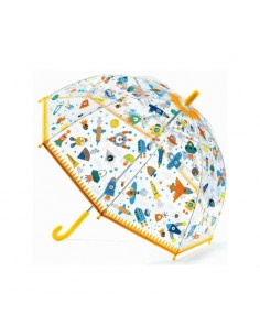 Paraguas Transparente Espacio