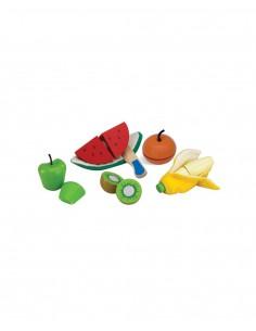 Frutas para pelar y cortar