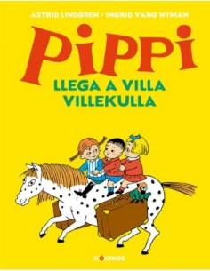 Cómic Pippi Llega a Villa...