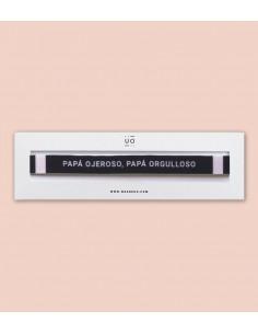 """Pulsera Tela """"Papa ojeroso,..."""