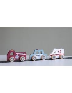 Vehiculos de Emergencia Madera