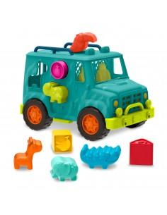 Jeep con animales