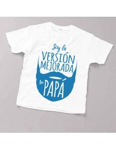 Camiseta Infantil Version...