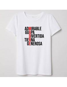 Camiseta Adulto MADRE