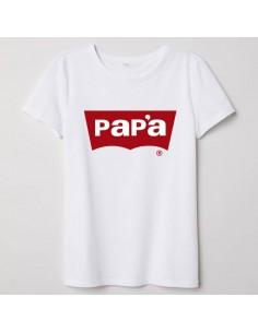 Camiseta Adulto Papa Jeans