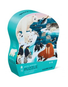 Puzle Animales del Artico 72p