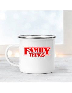 Taza Metal Family Things