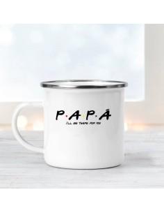 Taza Metal Papa I'll be...