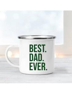 Taza Metal Best Dad Ever