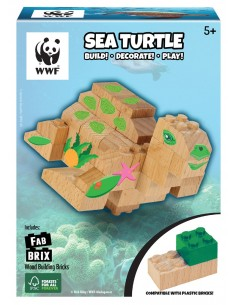 Set Construcción Madera WWF...