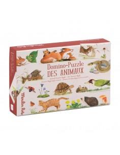 Puzle Domino de Animales