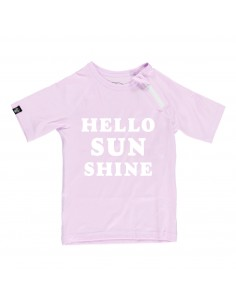 Camiseta Rosa UPF50+ Hello...