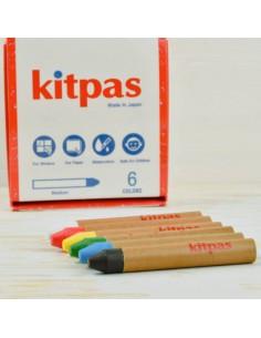 Caja 6 ceras Japonesas Kitpas