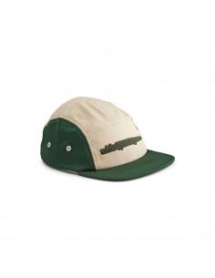 Gorra Cocodrilo Verde