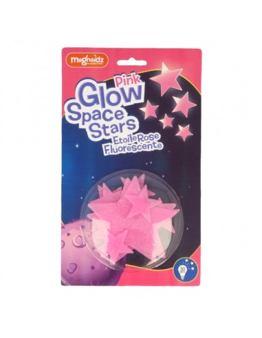 Estrellas Rosas Fluorescentes