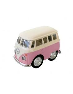 Mini Furgoneta Volkswagen Rosa