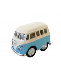 Mini Furgoneta Volkswagen Azul