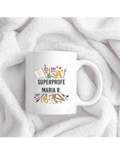 Taza Ceramica Superprofe...