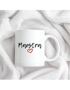 Taza Ceramica Maestra/o