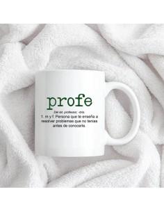 Taza Ceramica Profe Definicion