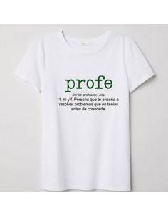 Camiseta Adulto Profe...